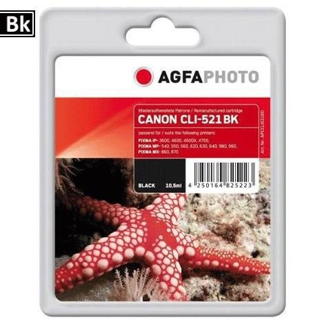 Inkt Canon CLI-521BK