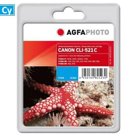 Inkt Canon CLI-521C