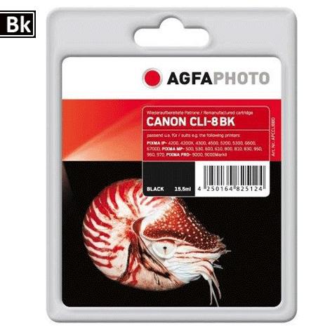 Inkt Canon CLI-8BK
