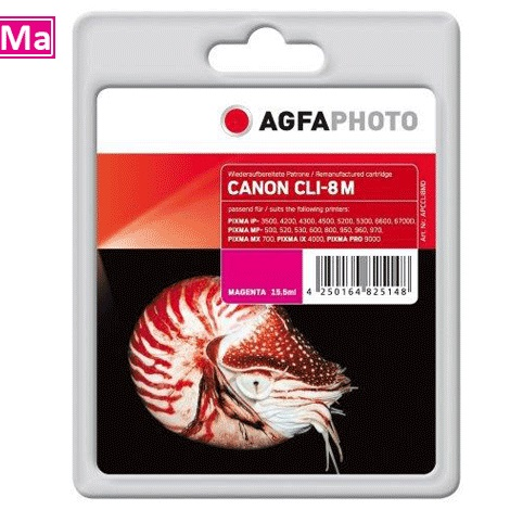 Inkt Canon CLI-8M