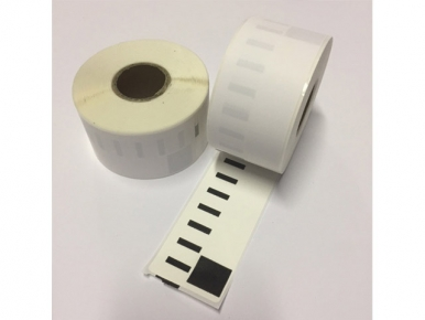 DYMO compatible labels 99012 89x36 mm S0722400 permanent klevend 260 labels 100% BPA-vrij (per 25 rollen)
