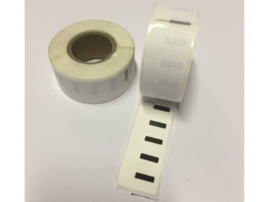 DYMO compatible labels 99017 50 x 12 mm S0722460 permanent klevend 220 labels (per rol)