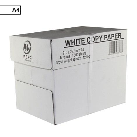 Kopieerpapier ft A4 75 g pak van 500 vel (DOOS/5PAK)